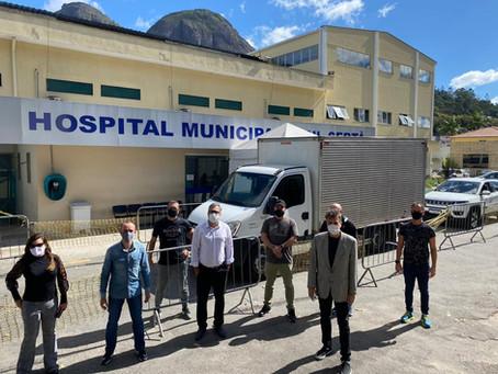 Empresários se unem para fazer doação ao hospital Municipal de Nova Friburgo