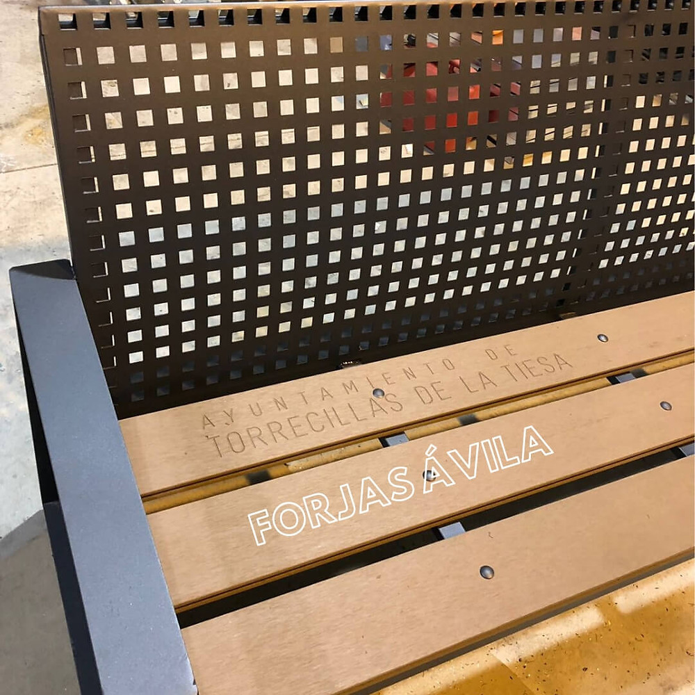 Mobiliario Urbano en Forja
