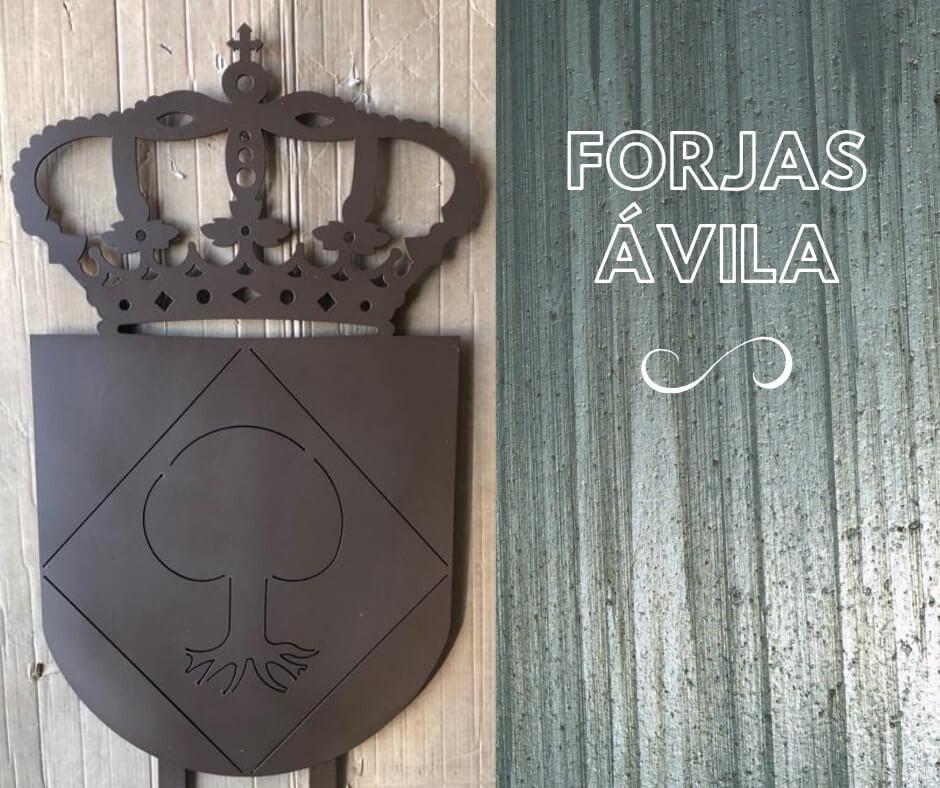 escudos de forja