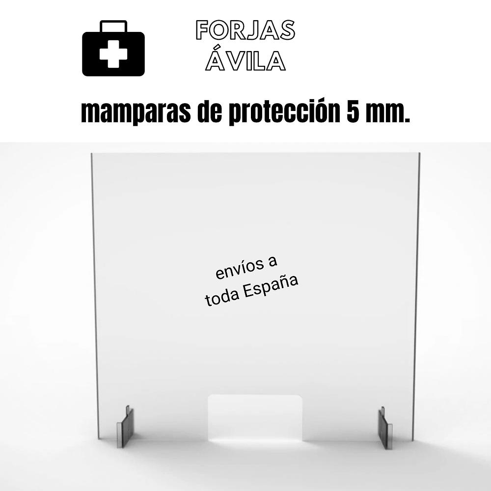 mamparas de protección extremadura