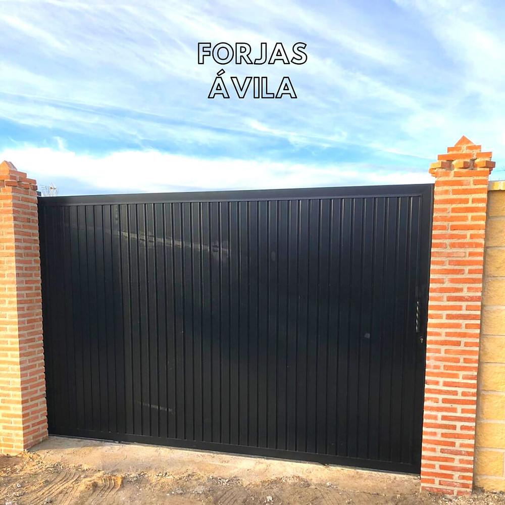puertas metálicas para fincas