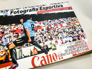 """Pré Venda do Livro """"Fotografia Esportiva"""""""