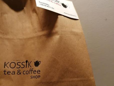 Kossik Tea & Coffee - A fehértől a feketéig