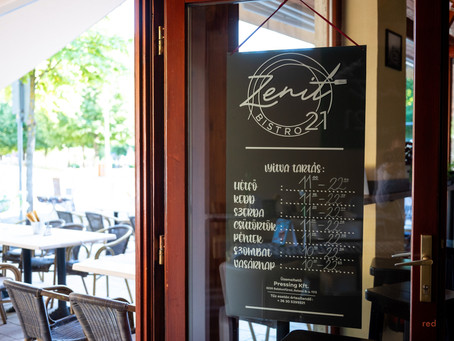 Zenit'21 Bistro - ahol a menü, az újragondolt lángos és a minőség találkozik