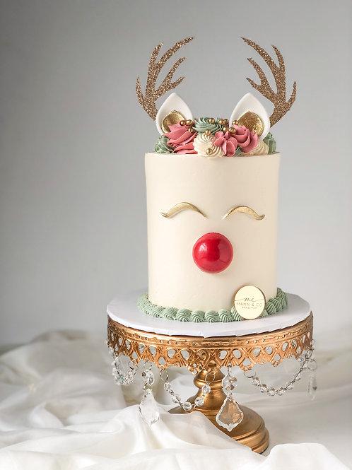 "4"" Reindeer Cake"