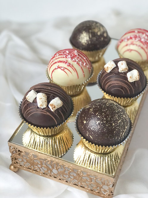 Cocoa Bombs (Pack of 6)