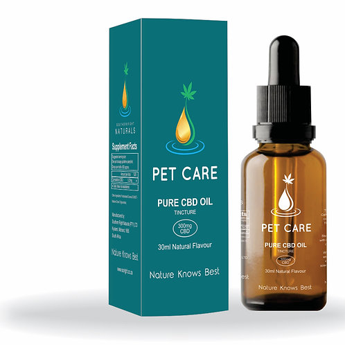 Pure HEMP PET CARE CBD Oil 300mg