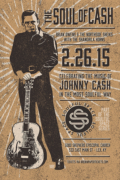 "Brian Owens & Northside Sheiks ""The Soul of Cash"""