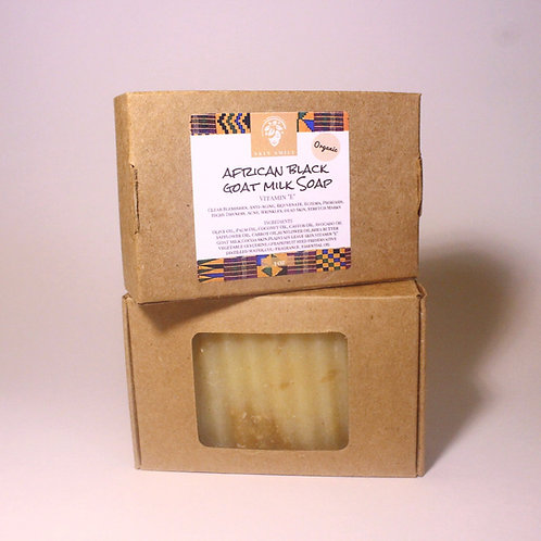 African Black Goat Milk Bar Soap