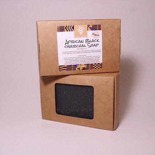 African Black Charcoal Bar Soap