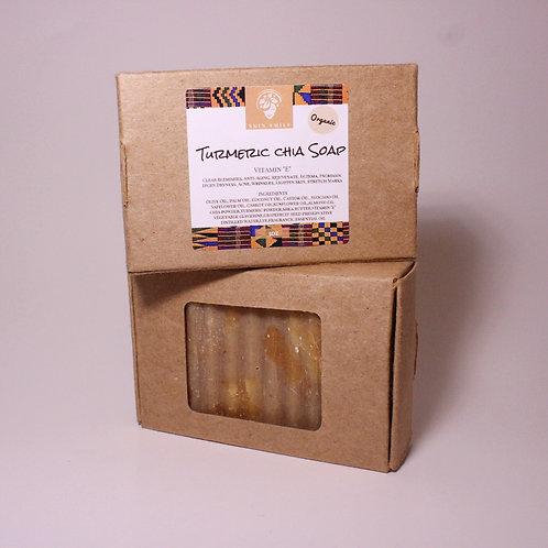 Turmeric Chia Bar Soap