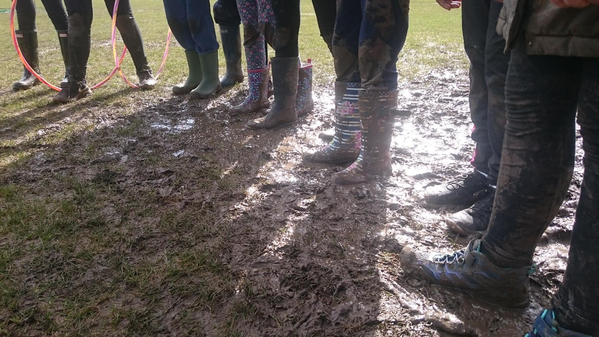 Mud mud glorious mud...