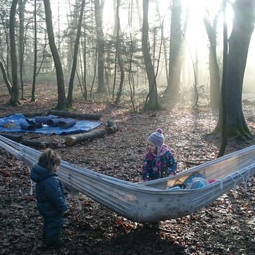 We love the hammock