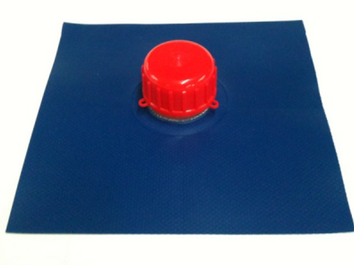Cap and Nozzle on a patch