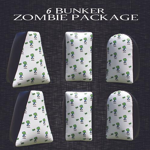 Zombie Field Package  6 Bunker Set