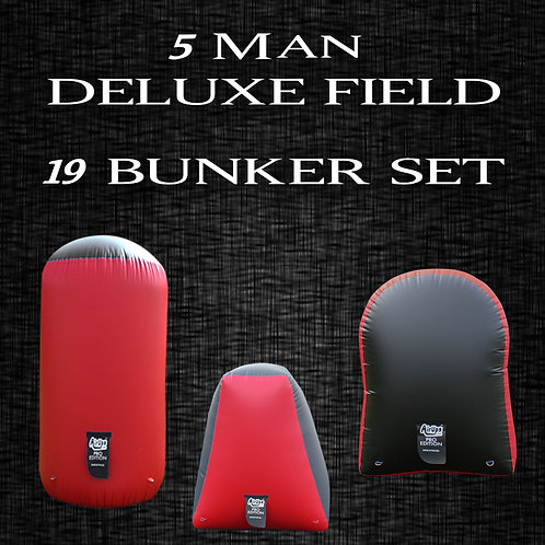5 MAN - DELUXE FIELD : 19 Bunker Set