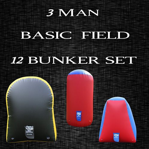 3 MAN - BASIC FIELD : 12 Bunker Set
