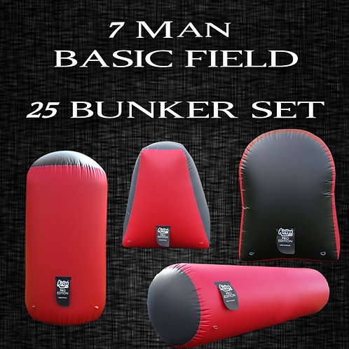 7 MAN - BASIC FIELD : 25 Bunker Set