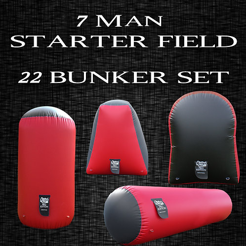 7 MAN - STARTER FIELD : 22 Bunker Set