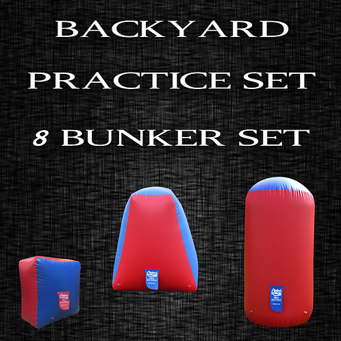 BACKYARD PRACTICE FIELD : 8 Bunker Set