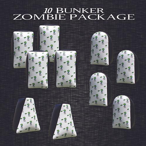 Zombie Field Package 10 Bunker Set