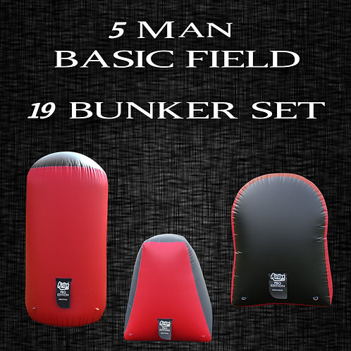 5 MAN - BASIC FIELD : 19 Bunker Set