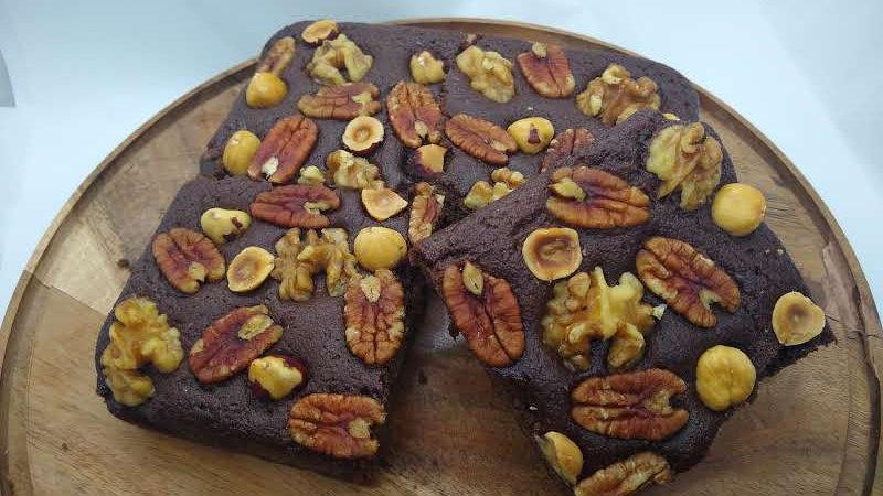 KETO Very Nutty Chocolate Brownie