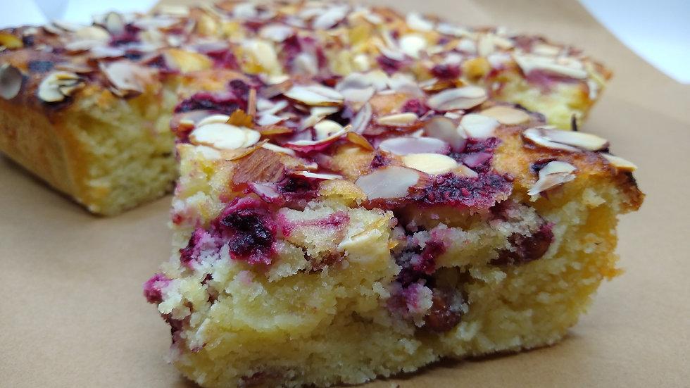 KETO Raspberry_Almond Cake