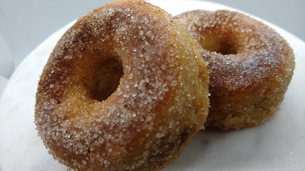 KETO Pumpkin Spice Donuts