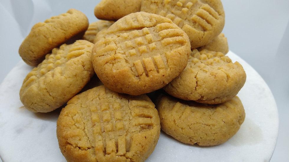KETO Classic Peanut Butter Cookies