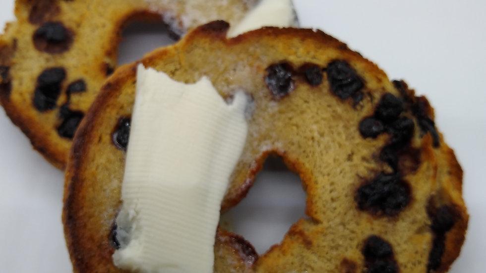 KETO Blueberry Bagels