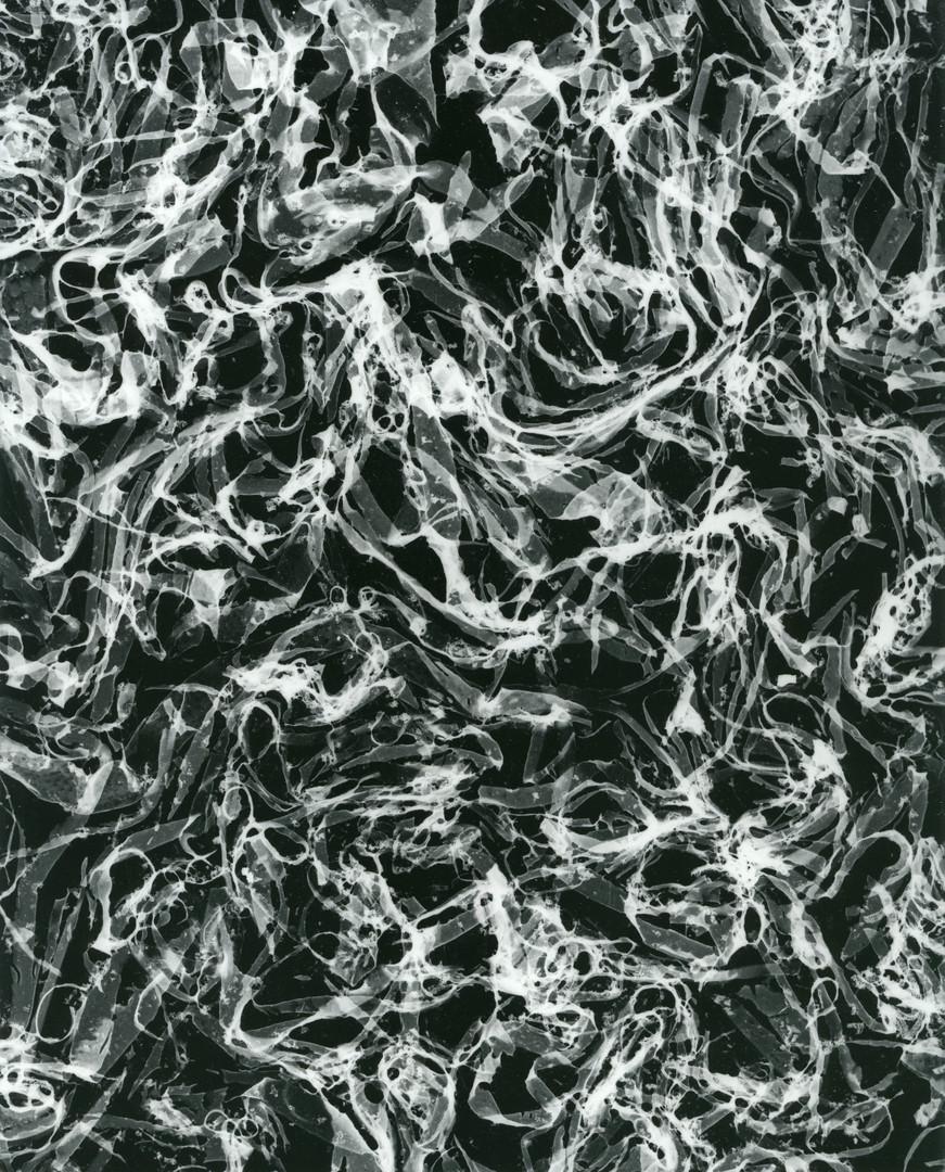 Crossed, c.2001-2018, silver gelatin print, 25.4 x 20.32cm