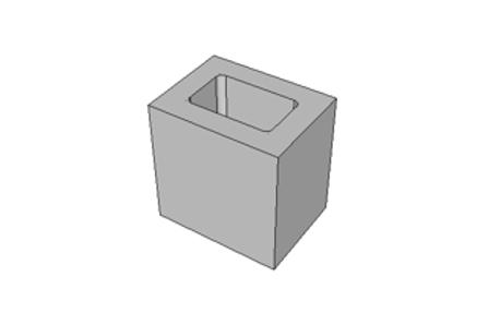 Meio Bloco 14 cm - 6,0 MPa