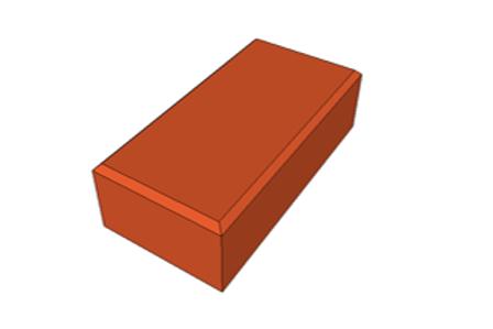 Paver Holland Terracota 8 cm - 35,0 MPa (m²)