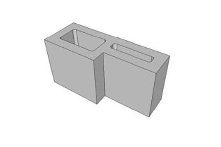Bloco Hidráulico 14 cm - 6,0 MPa