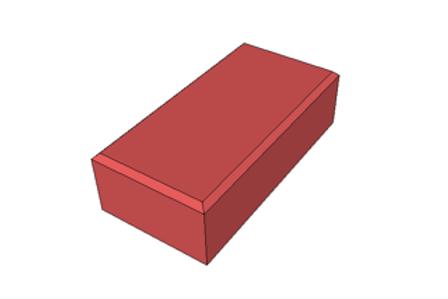 Paver Holland Vermelho 8 cm - 35,0 MPa (m²)