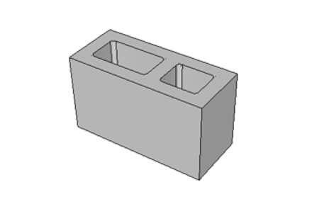 Bloco de Concreto 34 cm - 4,5 MPa
