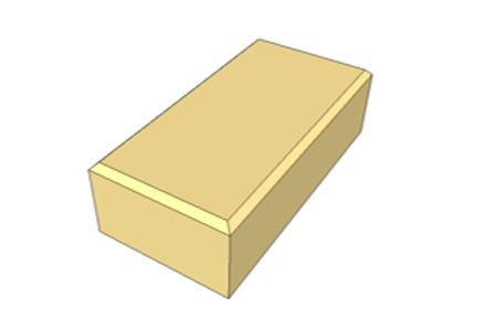 Paver Holland Amarelo 8 cm - 35,0 MPa (m²)
