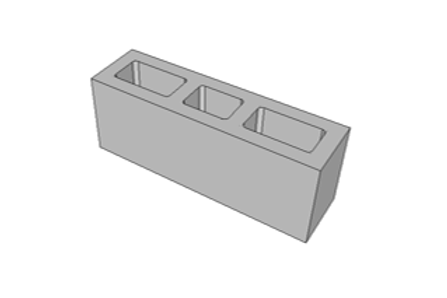 Bloco de Concreto 54 cm - 6,0 MPa