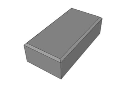 Paver Holland Preto 8 cm - 35,0 MPa (m²)