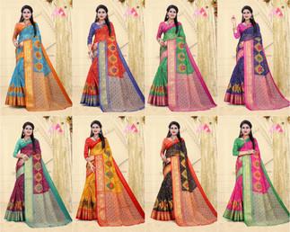 5074.Bandhej2-Rs.300(Cotton linen)