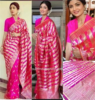 5006.Shilpa-Rs.500(Banarasi Silk)