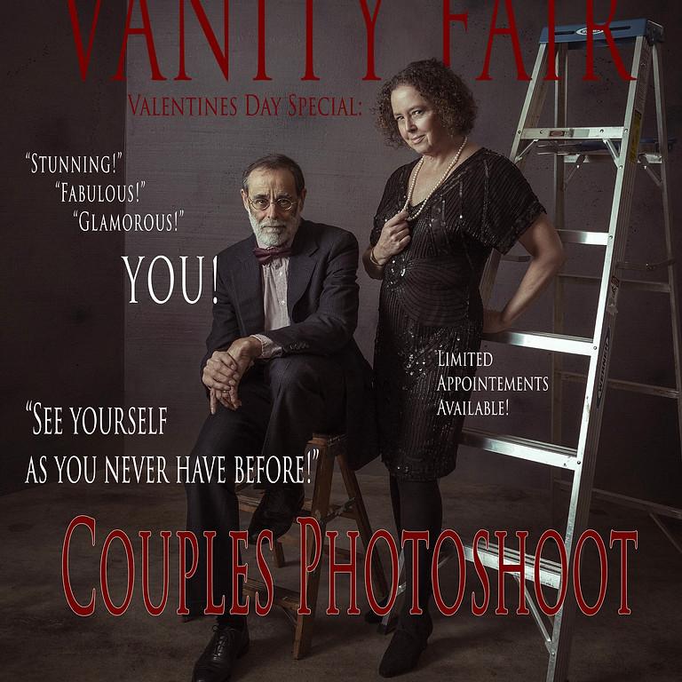 Vanity Fair Themed Couples Shoot
