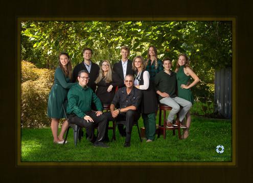 environmental family portrait
