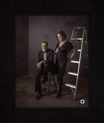 Vanity Fair style couples shoot