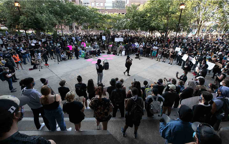 Downtown Durham protest in square.jpg