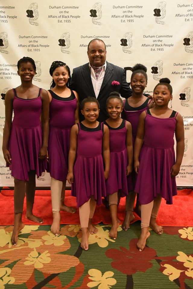 Banquet Roland Martin and Empower Dancers