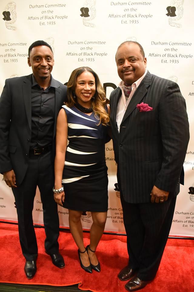Banquet Roland Martin, Brian Dawson, Karen Clark