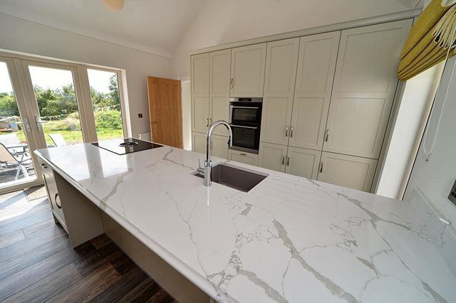 This kitchen combines practicality and s