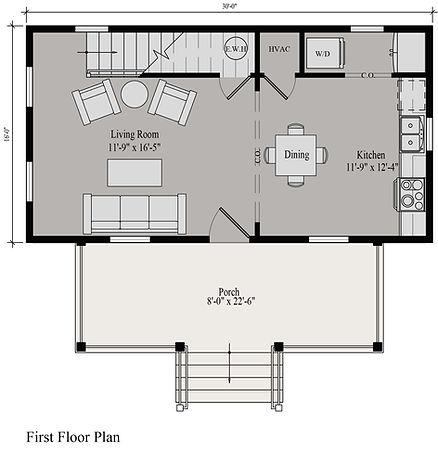 Joplin Cottage First Floor Plan_rendered